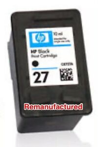 2-x-Rem-HP27-ink-cartridges-for-HP-OJ1210-OJ1315-DJ3550-DJ3845-DJ3325
