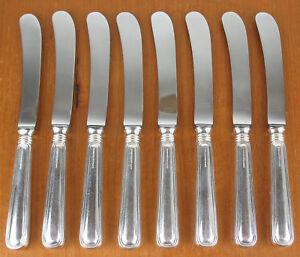 8-x-Butter-Knives-Birks-Regency-Plate-York-silverplated-hollow-handle-silver