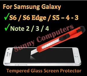 15x-Tempered-Glass-Screen-Protector-for-Samsung-Galaxy-Note-4-3-2-S6-Edge-S6-S4