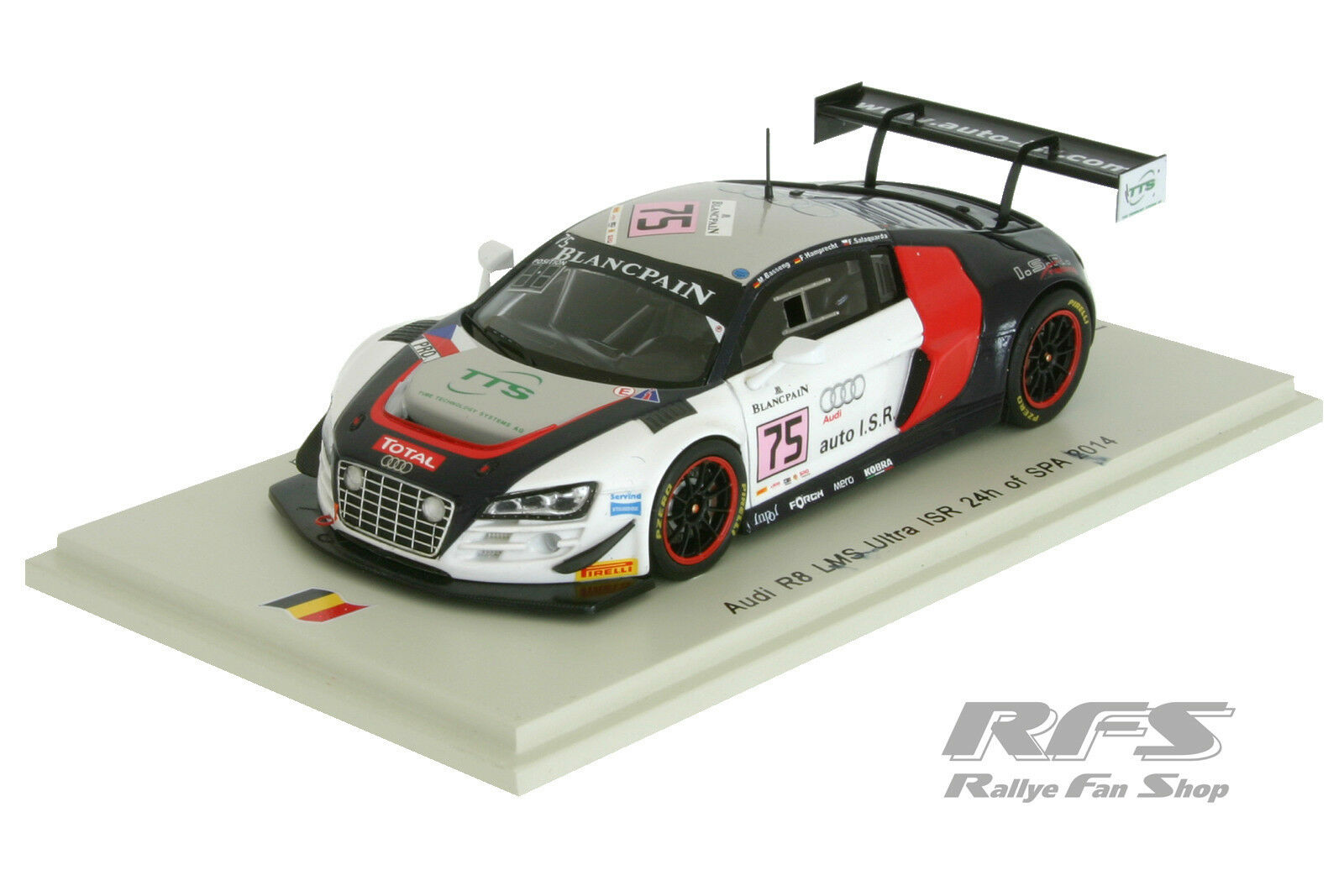 AUDI r8 LMS ultra-Basseng - 24 hours of spa 2014 - 1:43 spark sb103 | Discount