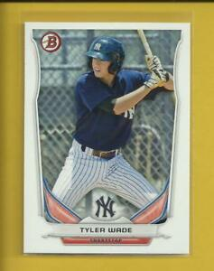 Tyler-Wade-RC-2014-Bowman-Prospects-Rookie-Card-BP35-New-York-Yankees-MLB