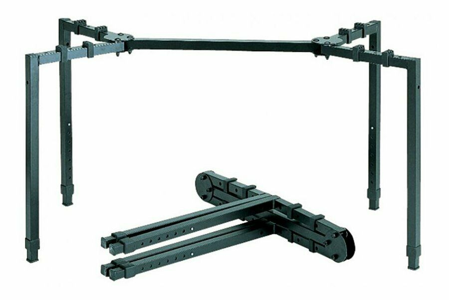 Quik Lok Large Portable Mixer Stand with Adjustable Height & Depth - WS-550