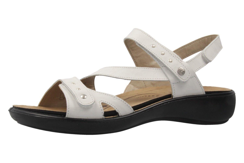 Descuento por tiempo limitado Romika Ibiza 70 Sandalen in Übergrößen Weiß 16070 24 000 große Damenschuhe