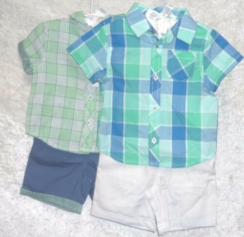 Details about  /NEW First Impressions Baby Boys Set Shirt Shorts Short Sleeves size 6-9M 18M