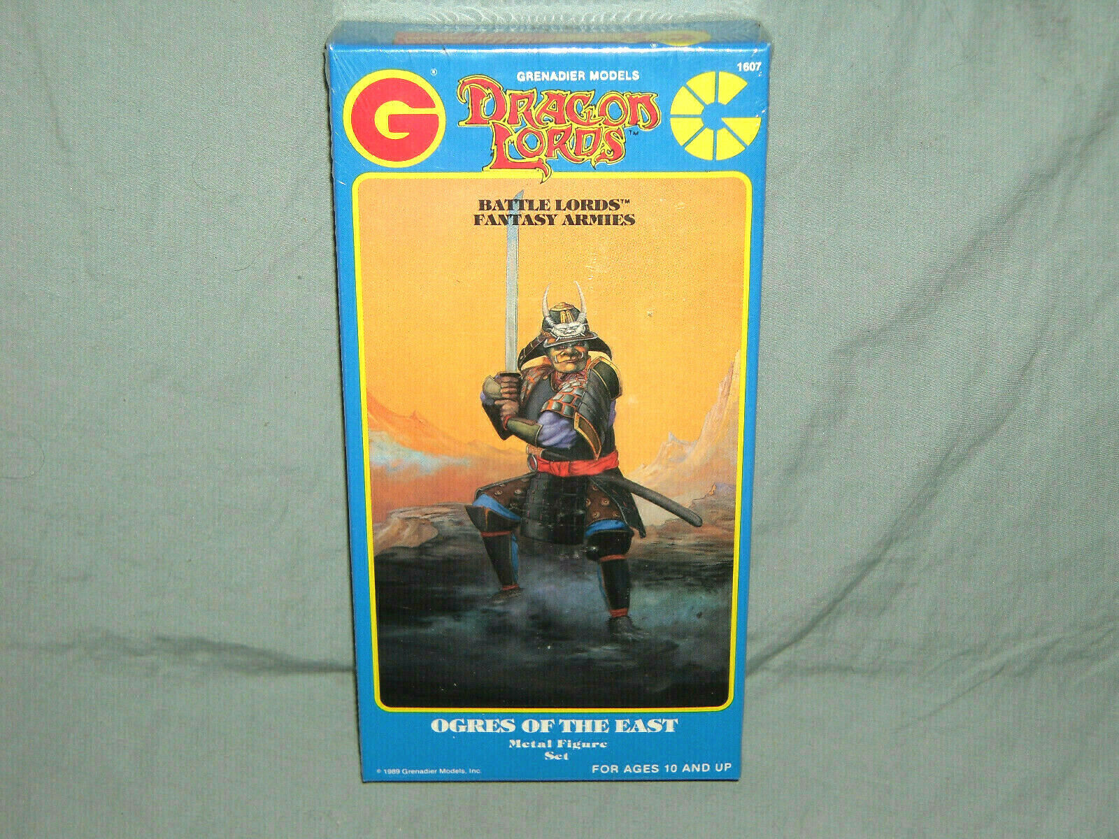 Grenadier BATTLE LORDS Fantasy Armies - OGRES OF THE EAST (RARE SET and SEALED )