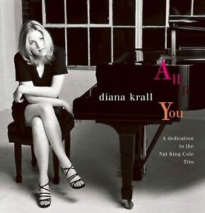 DIANA-KRALL-all-for-you-CD-album-EX-EX-IMP-11642-contemporary-jazz