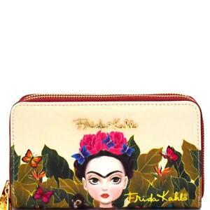 da8f4fa2927a8 La foto se está cargando Version-de-dibujos-animados-autentico-Frida-Kahlo -Billetera-