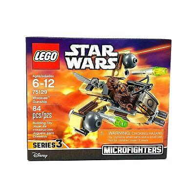 Lego Star Wars 75129 Microfighters Wookie Gunship 84pcs New Sealed 2016