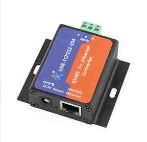 USR-TCP232-304-Serial-RS485-to-TCP-IP-Ethernet-Server-Converter-Module