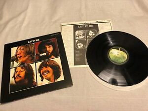 The-Beatles-Let-it-Be-Japan-LP-Record-Album-Vinyl-Apple-EAS-80561-EX-VG-w-insert