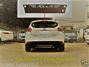 Ford Focus Mk 3 2012 2018 Carbon Style Aufkleber 3