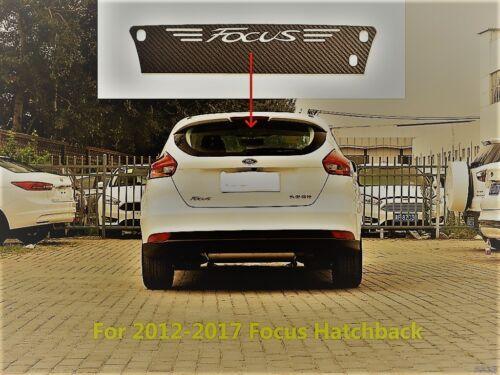 FORD Focus MK 2 /& 3 2005-2017 Carbonio Style Adesivi 3 luce di arresto