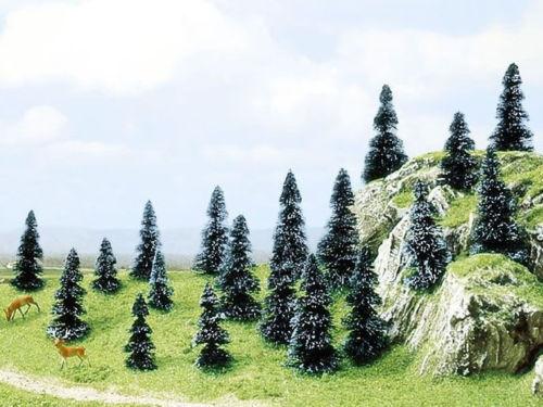*  Busch scala N/Z 6598  20  alberi abeti tree tannen NUOVI NEW