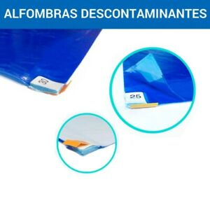 30 Tappeti decontaminanti con battericida cm 90X60 spellicolabile certificati