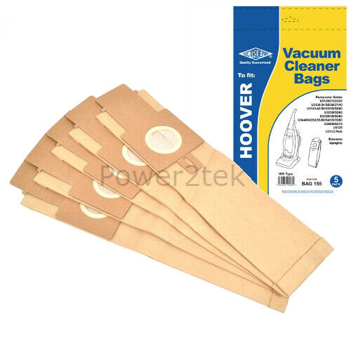 5 x H20 Hoover Dust Bags for Hoover  PU2115//1 PU2118 PU2120 001 UK Stock
