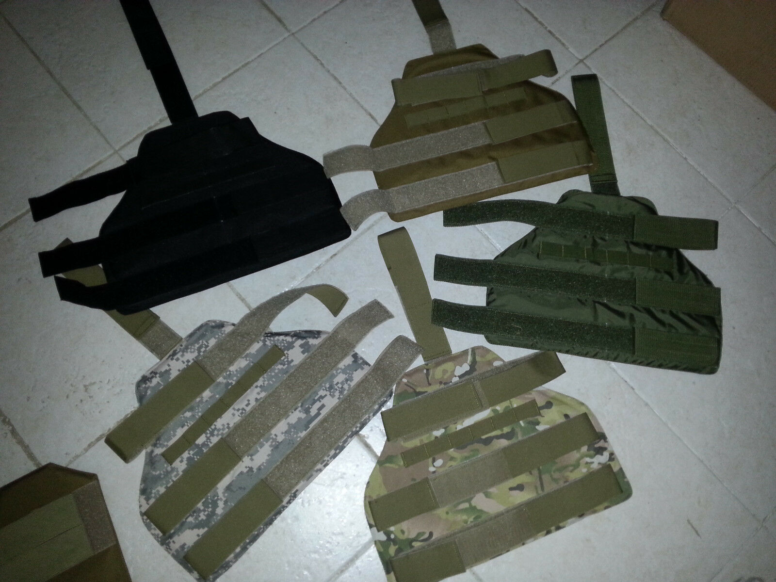 Ballistic UPPER LEG body armor IIIA RARE  thigh armor GEN 2 (multi cam)