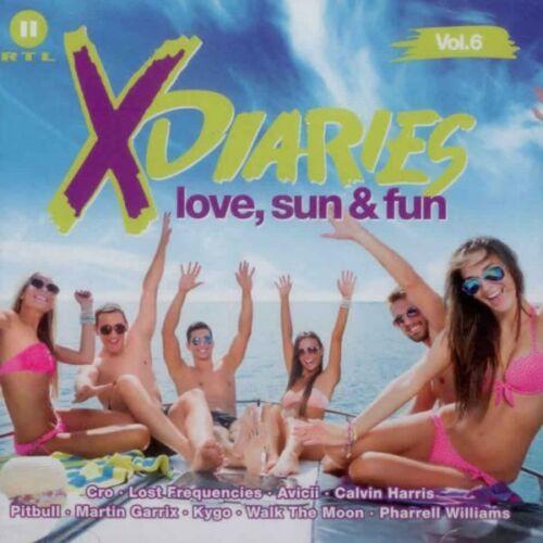 1 von 1 - RTL II - X-Diaries Vol.6 - Love, Sun & Fun - Doppel CD  Pop, Compilation