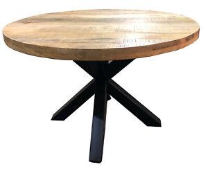 Tisch Rund 100 Cm : runder tisch rund esstisch mango massiv massivholztisch ~ A.2002-acura-tl-radio.info Haus und Dekorationen