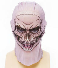 TATUAGGI Netto Collant MASCHERA TESCHIO SCHELETRO HALLOWEEN FANCY DRESS