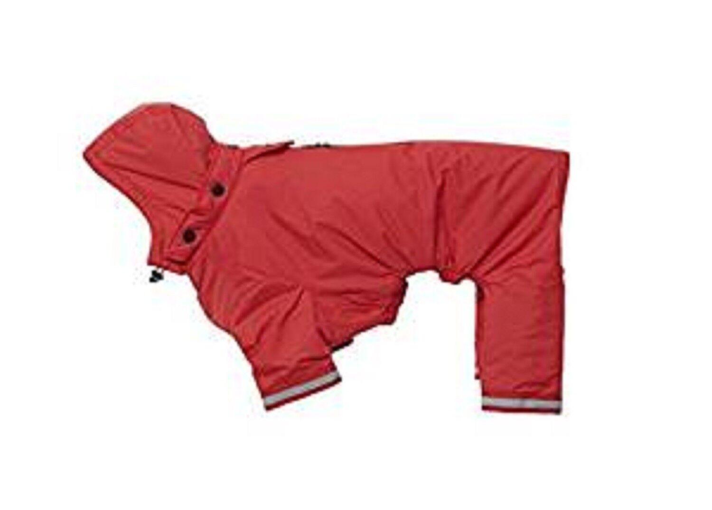 Buster Aqua Rain Coat, Medium Large Red, Premium Service, Fast Dispatch