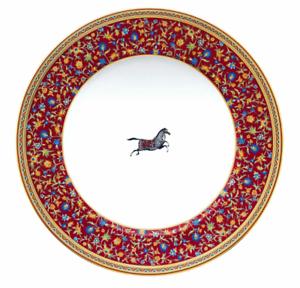 Hermes-Cheval-D-039-Orient-Assiette-Plate-Americain-Hermes-Cheval-D-039-Orient-009802P