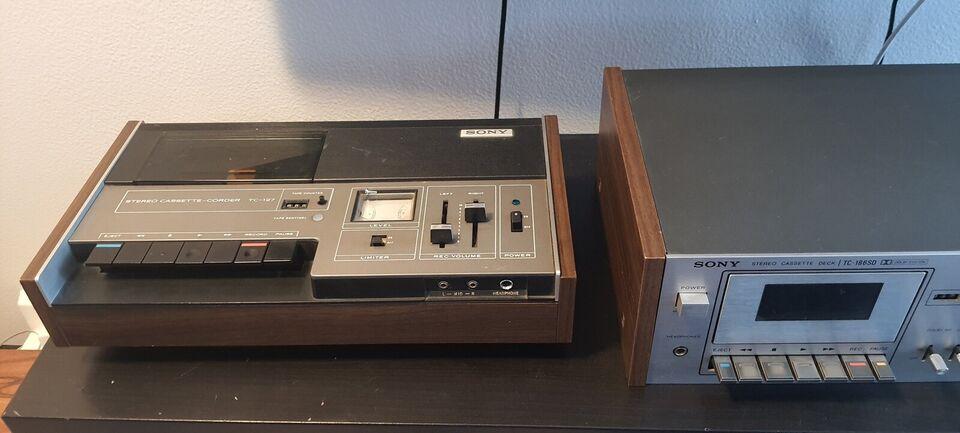 Stereoanlæg , Sony, Str-3800L Tc-186sd Tc-127
