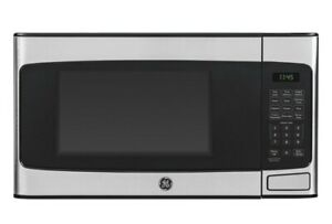 GE 1.1cu.ft. Countertop Microwave Oven - Stainless Steel (JES1145SHSS)