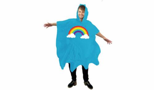 Gift Republic Rainbow Poncho Festival Fun Poncho Housse de pluie fierté Cadeau