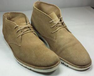 58fdf99378c Details about Nordstrom 1901 Men's Suede Desert Boots Tan EUC! Size 14 M