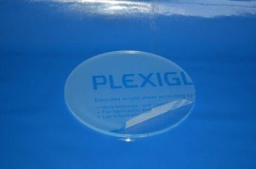 Rund 3 mm Stark PLEXIGLAS® XT Platte GP Max 267€//m²