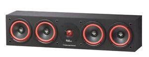 Cerwin-Vega-SL-45C-Quad-5-1-4-034-Center-Channel-Speaker-300-Watt-Home-Theater-NEW