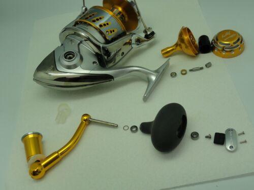 UJ PRK 45 type II knob FITS Shimano Stella Twinpower SW 5000 ~ 20000 reel GD//SV