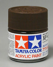 TAMIYA COLOR FLAT ACRYLIC PAINT XF-64 Red Brown