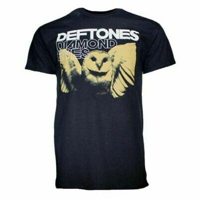 Men/'s Black T-Shirt IMPORT Official Deftones Black Rangers