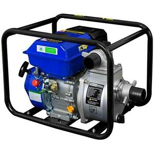 3-in-7-HP-Gas-Powered-Semi-Trash-Water-Pump-Portable-Pool-Basement-Dewatering