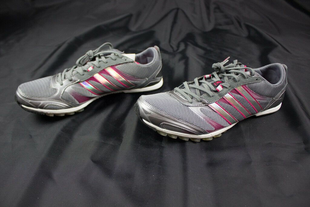 NEW adidas Adizero Belligerence Multiple - Pink/Gray Cleats (Men's Multiple Belligerence Sizes) 792b03
