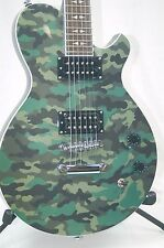 Michael Kelly Patriot Blake Shelton L.P. Style Electric Guitar -Camo BLEM *B0075