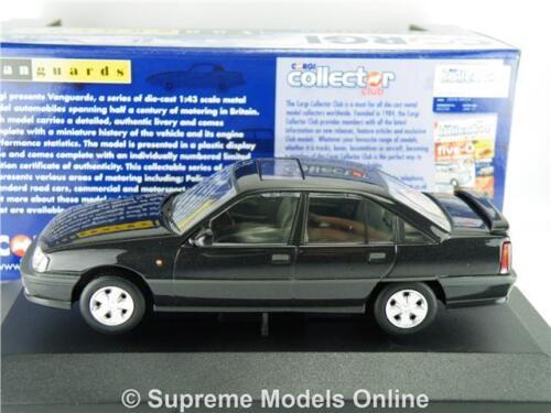 CORGI VA14004A VAUXHALL CARLTON MODEL CAR STARMIST BLACK 1:43 SCALE VANGUARDS K8