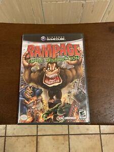 Rampage Total Destruction Nintendo Gamecube 2006 Disc