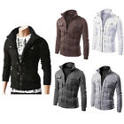 Fashion Men's Slim Winter Coat Jacket Outerwear Overcoat Casual Tops Warm Blazer