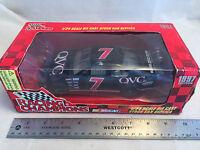 1997 Racing Champions Geoff Bodine 7 Qvc Nascar 1:24 Scale Diecast Stock Car