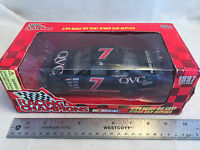1997 Racing Champions Geoff Bodine 7 Qvc Nascar 1:24 Scale Diecast Stock Car