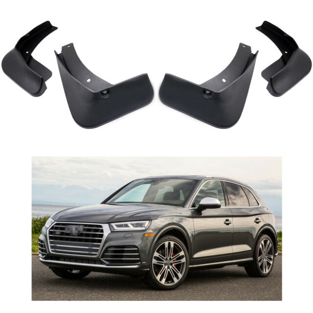 Car Mud Flaps Splash Guards Fender Mudguard Fit For Audi