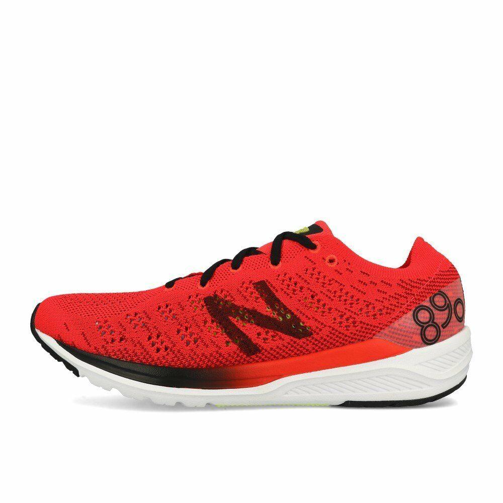 New balance m 890 d rb7 rojo zapatillas rojo negro blancoo