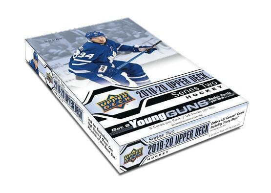 85% Sold! 19-20 Upper Deck Hockey SERIES 2 BOX BREAK Random Teams-Free Shipping!