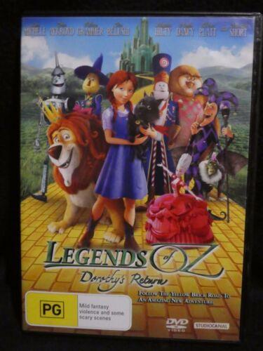 1 of 1 - Legends Of Oz - Dorothy's Return (DVD, 2014, Region 4) a1