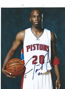 Sports Mem, Cards & Fan Shop Jodie Meeks Auto Autographed 8x10 Photo Signed Picture W/coa Detroit Pistons 2 Photos