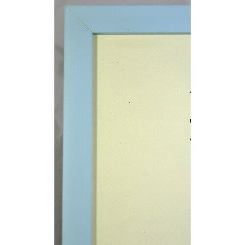 Narrow Light//Baby Blue Picture//Photo Frame Available in various sizes