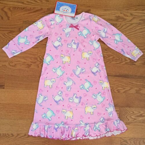 SARA/'S PRINTS 2 4 cotton NIGHTGOWNS S//S L//S patterns flame resistant NWT