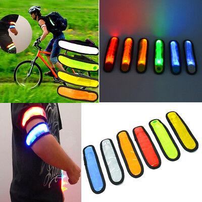 Sicherheitsband Fahrrad Leuchtband elanox LED Armband Joggen Motorrad